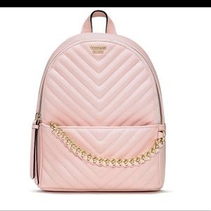 Victoria's Secret Small City Quilted Backpack NWT
